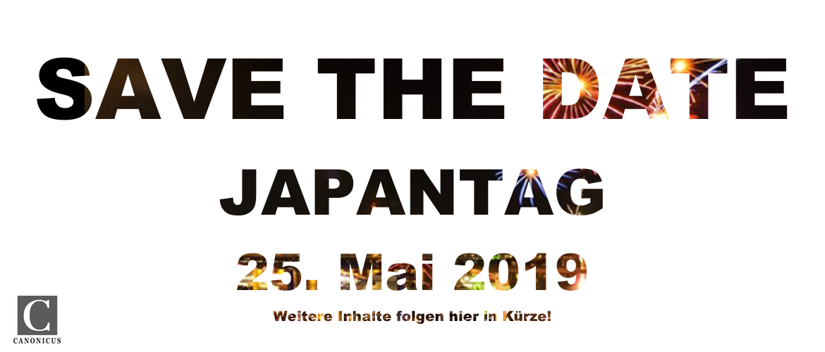 Safe the date Japantag 2019