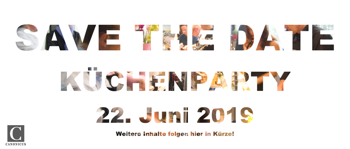 Safe the date Küchenparty 2019
